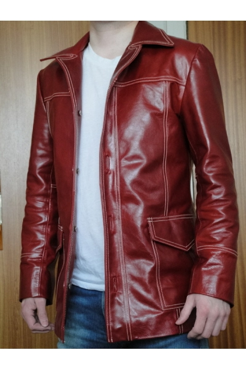 CVJ #2 Leather Jacket by Jonathan A Logan in Fight Club