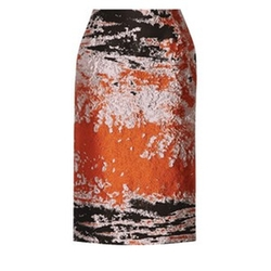 Jacquard Midi Skirt by MSGM in Supergirl