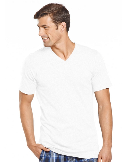 Slim Fit Knit V-Neck T-Shirt by Jockey in The Hangover