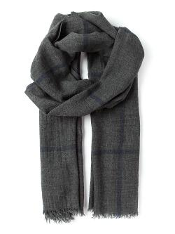 Checked Scarf by Runello Cucinelli in The Dark Knight Rises