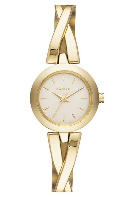Crosswalk Round Bangle Watch by DKNY in If I Stay