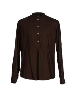 Mandarin Collar Shirt by Massimo Alba in Dr. No