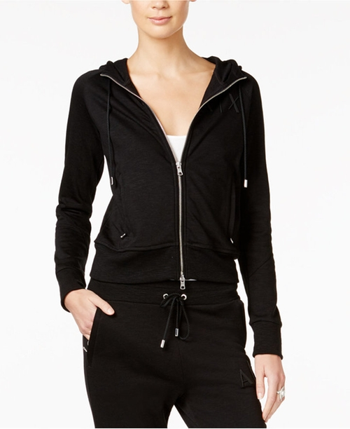 Zip Hoodie by Armani Exchange in Keeping Up With The Kardashians - Season 12 Episode 13