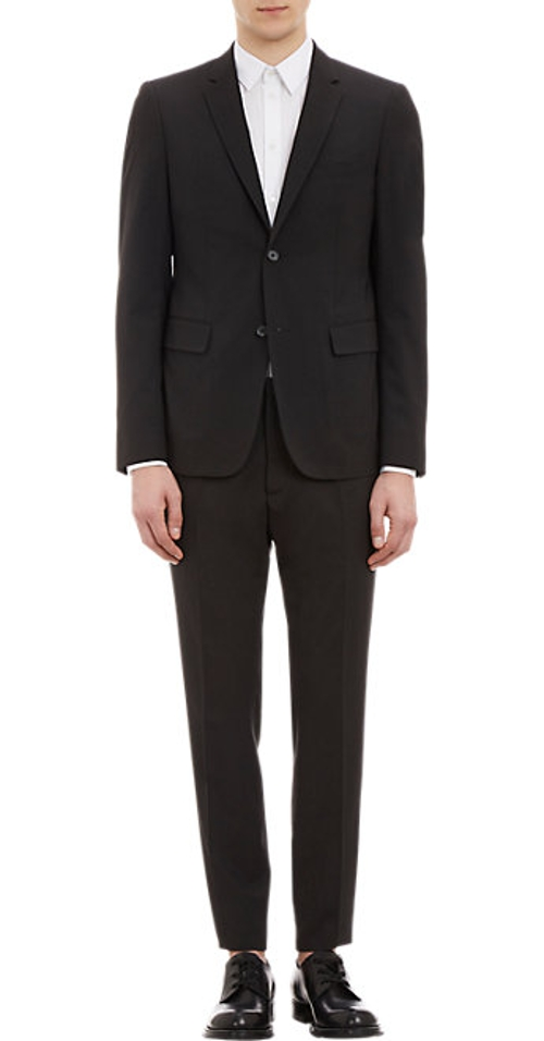 Two-Button Worsted Suit by Jil Sander in Avengers: Age of Ultron