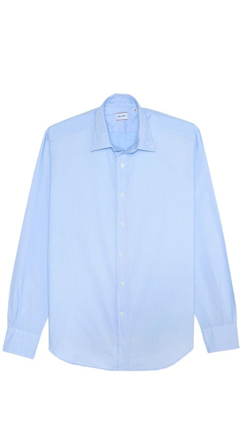 Kent Pinstripe Shirt by Glanshirt in What If