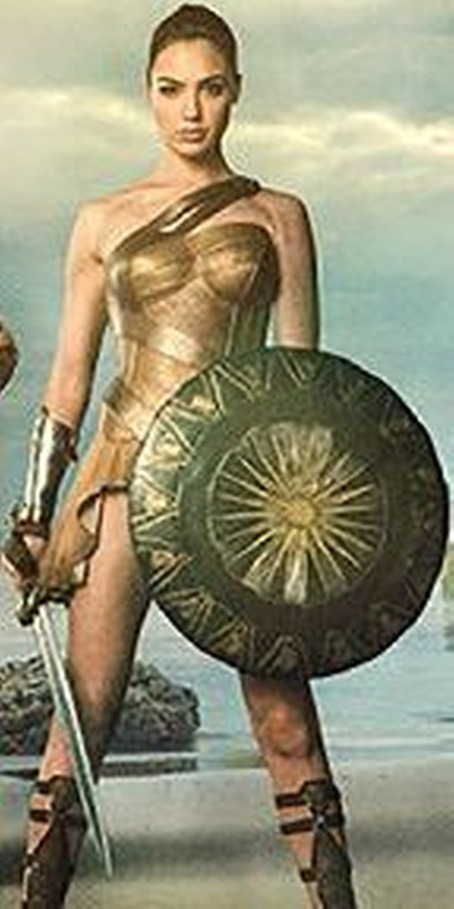Custom Made Amazon Costume (Diana Prince) by Lindy Hemming (Costume Designer) in Wonder Woman
