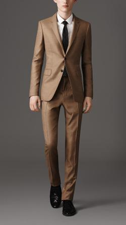 Slim Fit Lightweight Cashmere Suit by Burberry in Yves Saint Laurent