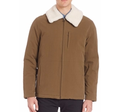 Militaire Sherpa Collar Jacket by A.P.C. in Collide