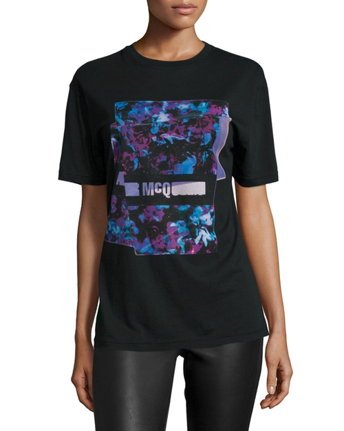 Classic Logo-Print T-Shirt by McQ Alexander McQueen in Freaky Friday