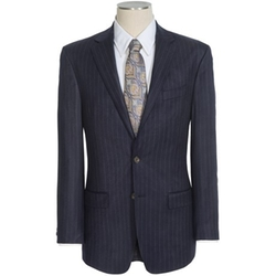 Lexington Stripe Suit Jacket by Lauren By Ralph Lauren in Spotlight