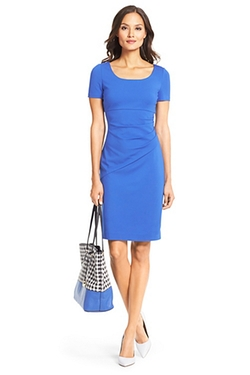 Bevina Ceramic Sheath Dress by DVF in Bridge of Spies