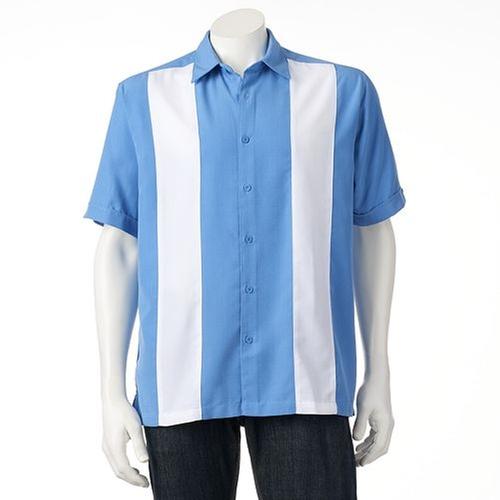 Colorblock Button-Down Shirt by Havanera in Kill Bill: Vol. 2