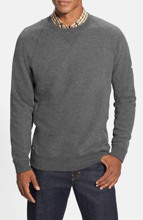 'Coastal' Fleece Crewneck Sweatshirt by Tommy Bahama in Get Hard