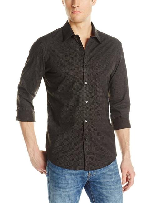 Men's Woven Button-Front Confetti-Print Shirt by Calvin Klein in Empire - Season 2 Episode 1