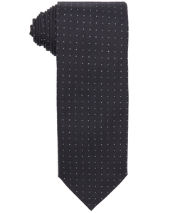 Dot Printed Silk Tie by Prada in Arrow