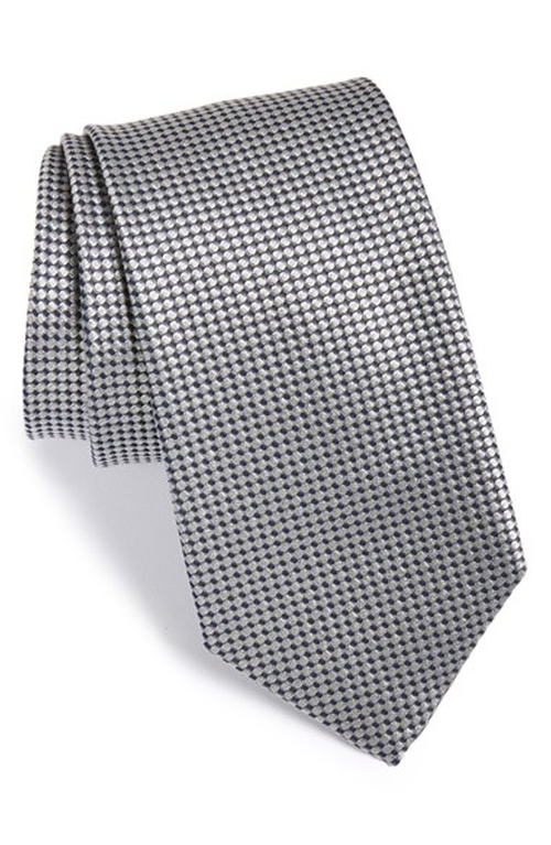 Geometric Silk Tie by Boss in Suits - Season 5 Episode 1