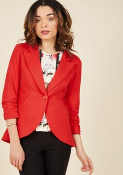 Fine and Sandy Blazer by Modcloth in Fuller House