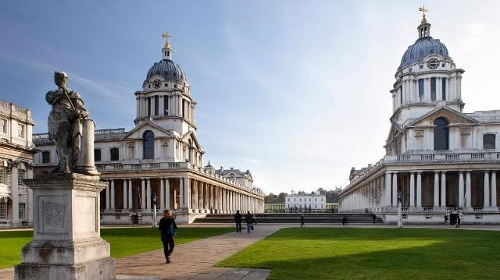 Old Royal Naval College London, England in Thor: The Dark World