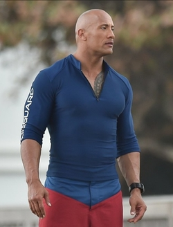 Custom Made Lifeguard Compression Shirt by Under Armour in Baywatch