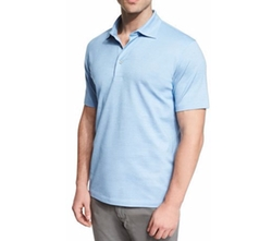 Short-Sleeve Polo Shirt by Ermenegildo Zegna in Ballers