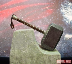 Thor's Mjolnir by Andy Park (Concept Artist) in Avengers: Age of Ultron