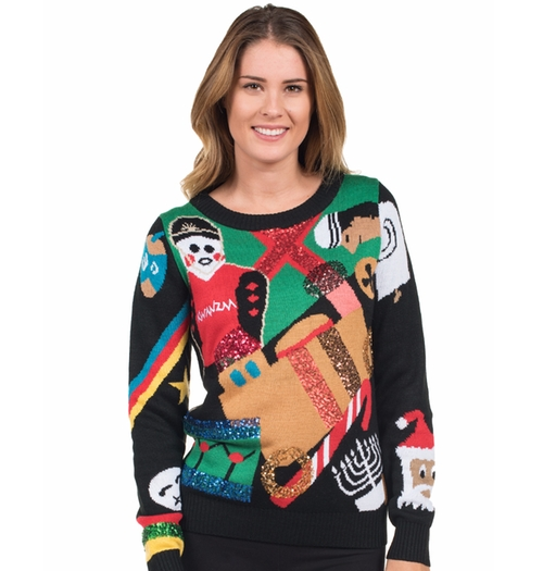 Nondenominational Sweater by Tipsy Elves in Office Christmas Party
