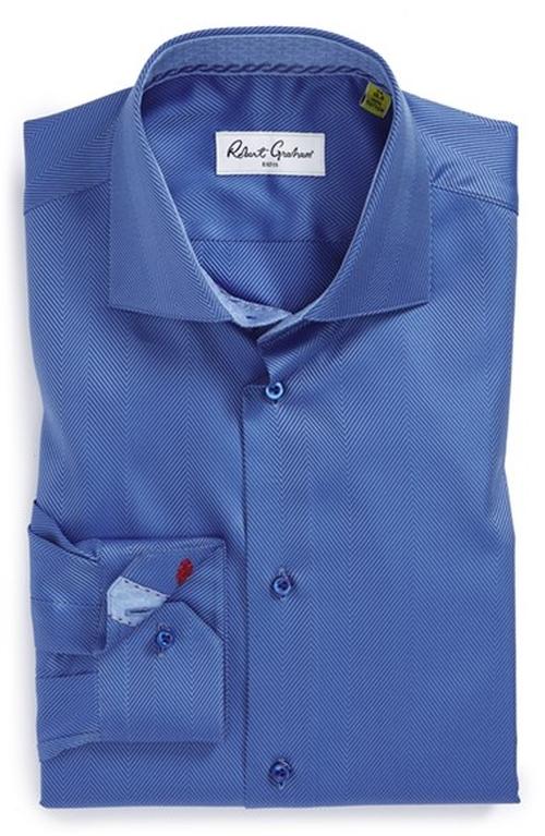 Regular Fit Dress Shirt by Robert Graham in Safe House