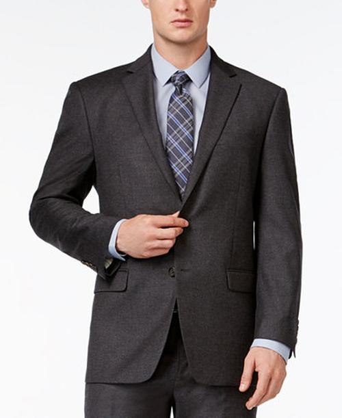 Ultraflex Charcoal Flannel Classic-Fit Jacket by Lauren Ralph Lauren  in Modern Family - Season 7 Episode 16
