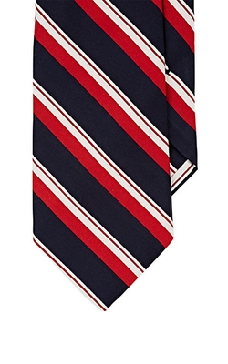 Textured-Stripe Necktie by Barneys New York in The Flash