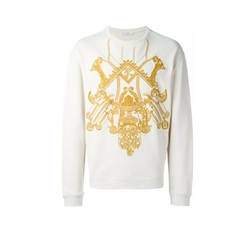 Embroidered Sweatshirt by Versace Collection in Empire