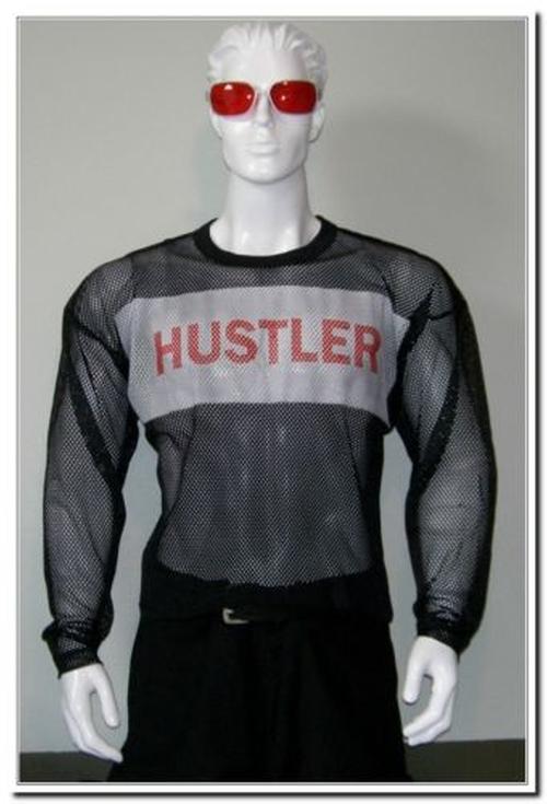 Mesh Jersey Polyester Project Mayhem Shirt by Hustler in Fight Club