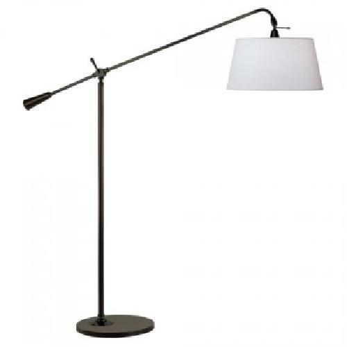 Jasper Adjustable Boom Floor Lamp by Robert Abbey in Walk of Shame
