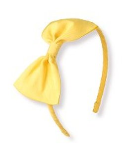 Bow Headband by Janie And Jack in Black or White
