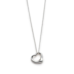 Open Heart Pendant Necklace by Tiffany & Co Elsa Peretti in Bridget Jones's Baby