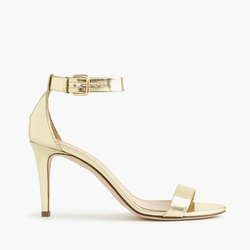 Mirror Metallic High Heel Sandals by J.Crew in Fuller House