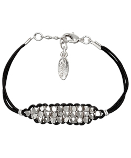Stacked Silver Beads Bracelet by Ettika in Fast Five