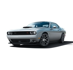 Challenger Muscle Car by Dodge in The Fate of the Furious