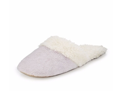Faux-Shearling Slide Slippers by Natori in Fuller House