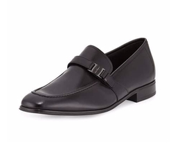 Pinot Calfskin Side Vara Loafers by Salvatore Ferragamo in Ballers