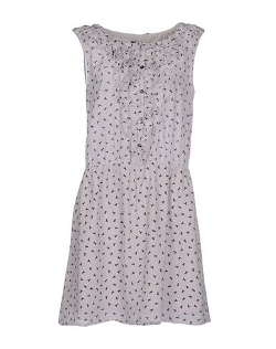 Sleeveless Short Dress by Patrizia Pepe Sera in Barely Lethal