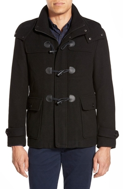 Duffle Coat with Removable Hood by Michael Kors in Quantico