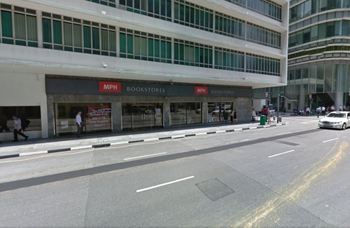 MPH Bookstores Singapore in Hitman: Agent 47