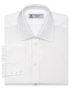 Solid Poplin Dress Shirt by Turnbull & Asser in Mission: Impossible - Ghost Protocol