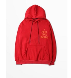 I Feel Like Pablo Alternate Hoodie by Yeezy in Keeping Up With The Kardashians