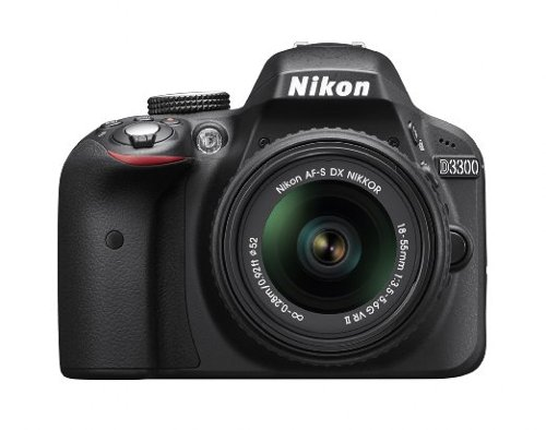 D3300 24.2 MP CMOS DSLR Camera by Nikon in The Man from U.N.C.L.E.
