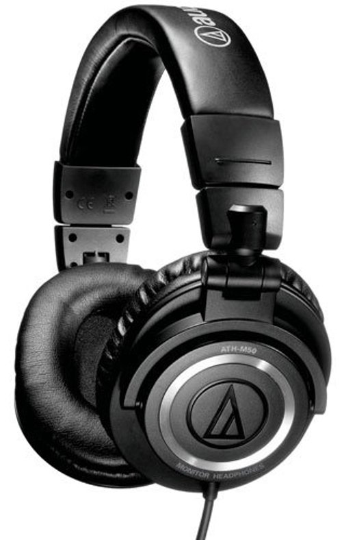 ATH-M50 Professional Studio Monitor Headphones by Audio Technica in If I Stay