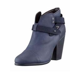 Harrow Leather Ankle Boots by Rag & Bone in Arrow