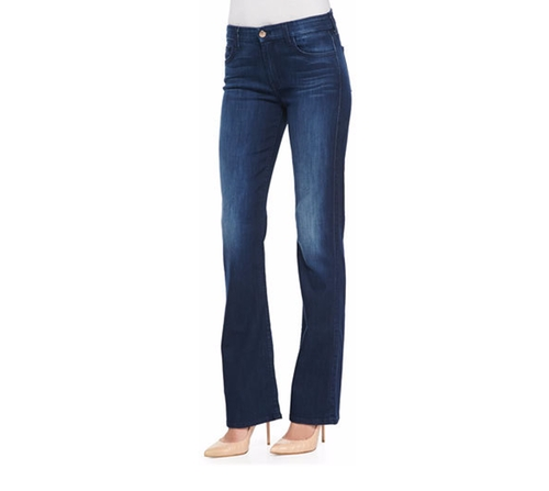 Boot-Cut Denim Jeans by JEN7 in Pretty Little Liars - Season 7 Episode 7