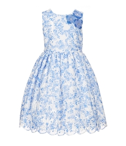 Printed Lace Dress by Pippa & Julie  in Crazy, Stupid, Love.