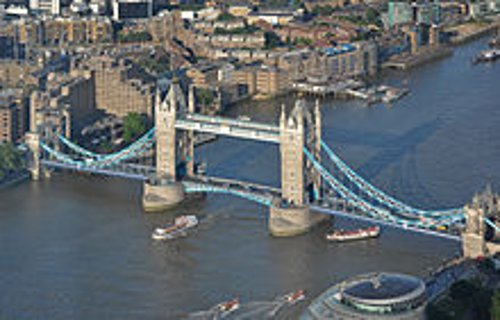 Tower Bridge London, United Kingdom in The Gunman
